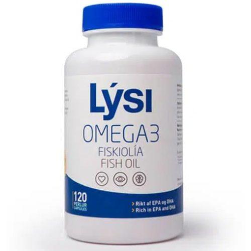 Lysi Izlandi Omega-3 lágyzselatin kapszula (120 db)