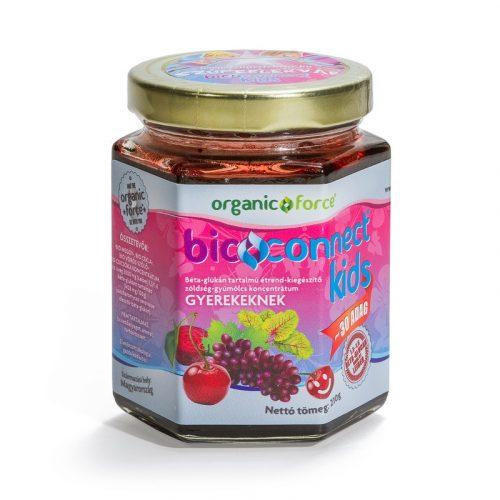 Organic Force Bioconnect Kids szuperlekvár beta-glükán 210g