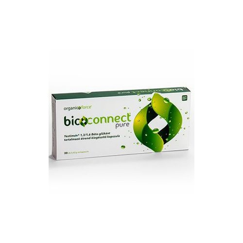 Organic Force Bioconnect Pure béta-glükán kapszula 30db