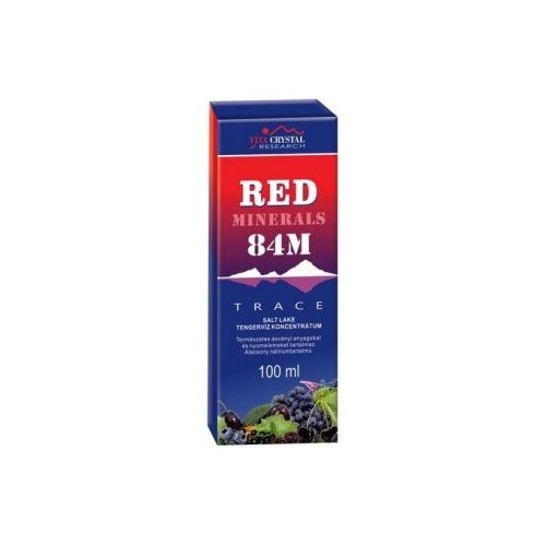 Red Minerals drops - 84M 100ml