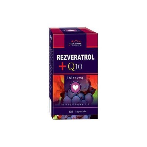 Rezveratrol + Q10 folsavval