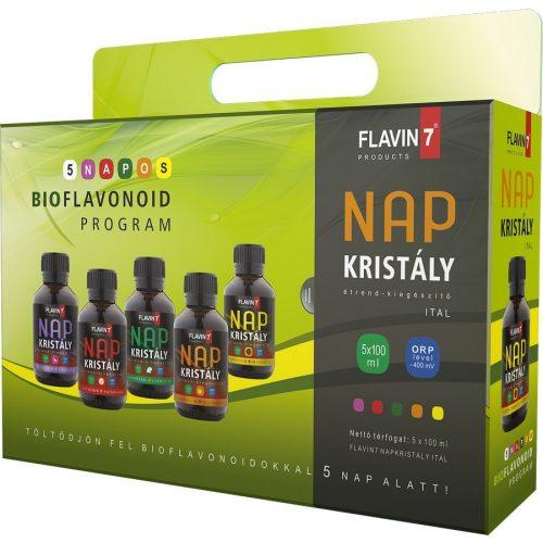 Flavin7 Napkristály 5 napos bioflavonoid program 5x100ml