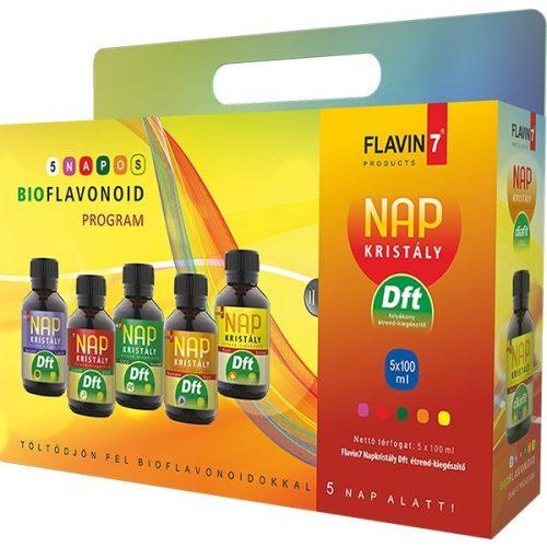 Flavin7 Napkristály 5 napos bioflavonoid Diaft program 5x100ml