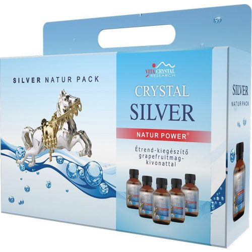 Crystal Silver Natur Pack 5x100ml