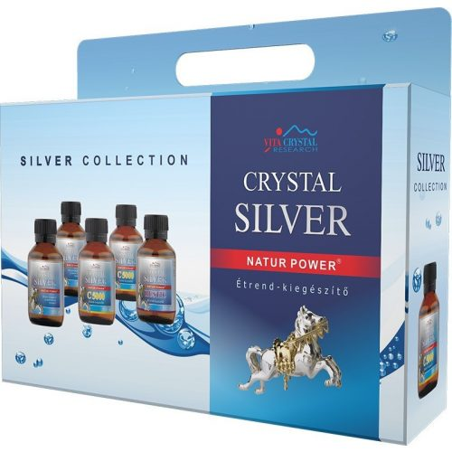 Crystal Silver Collection 5x100ml
