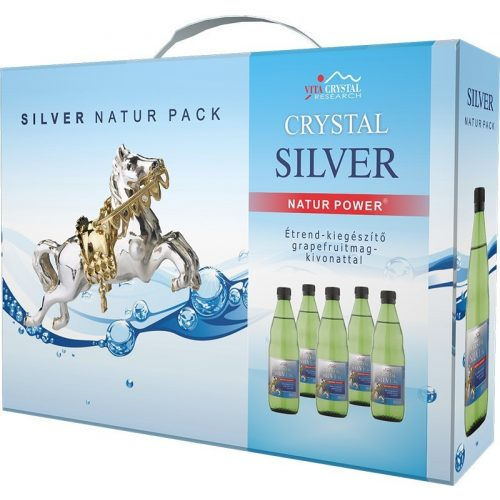 Crystal Silver Natur Pack 5x500ml