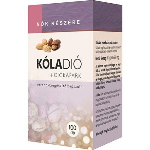 Kóladió + Cickafark kapszula 100db