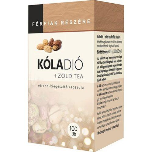 Kóladió + Zöld Tea kapszula 100db