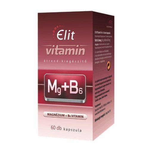 E-lit vitamin - Mg+B6 60db kapsz.