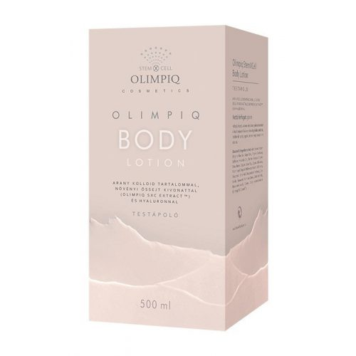 Olimpiq StemXcell Organic Body Lotion 500ml