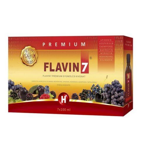 Flavin7 Prémium 8x7x100ml + Ajándék 3 doboz Flavin7 7x100ml (New)