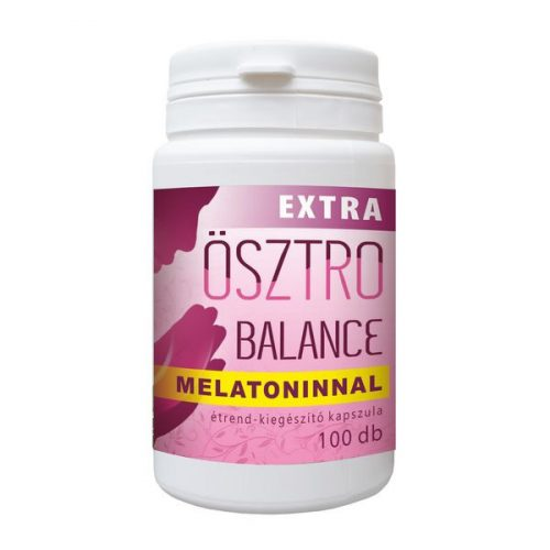 Ösztrobalance Extra melatoninnal 100db kapszula