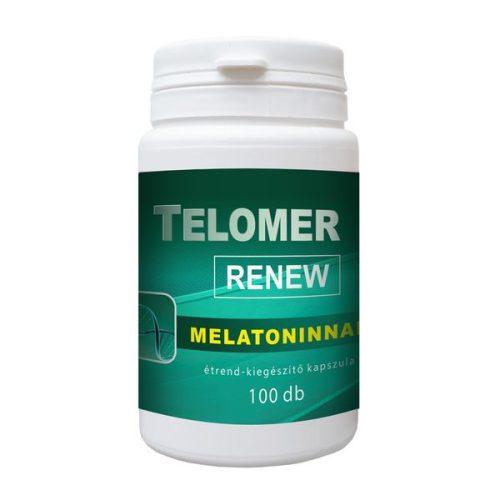 Telomer RENEW melatoninnal 100db kapszula