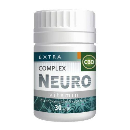 Extra CBD Complex Neuro vitamin 30 kapszula 8+3 doboz