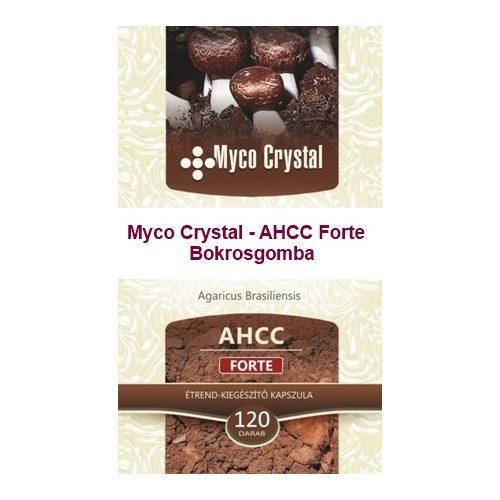 Myco Crystal - AHCC Forte Bokrosgomba 120db
