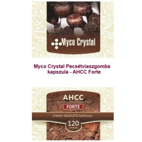 Myco Crystal - AHCC Forte Pecsétviaszgomba 120db