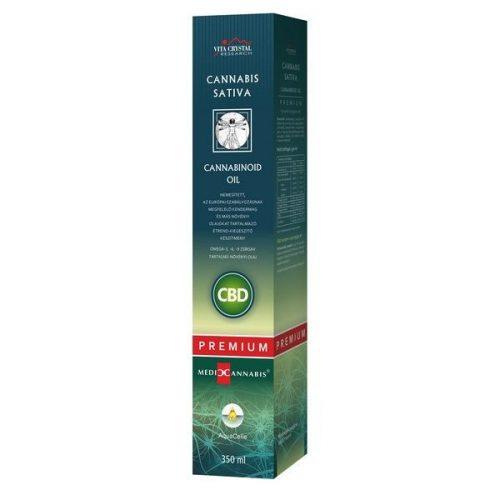 Cannabis Sativa Cannabinoid Oil PRÉMIUM 350ml
