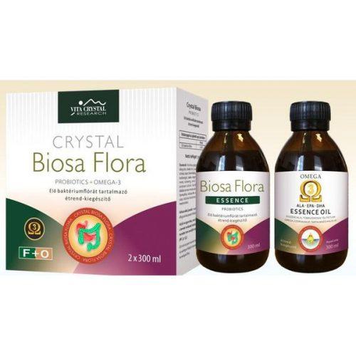 Crystal BiosaFlora Omega-3 Essence 2x300ml