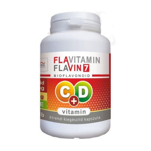 Flavitamin C+D vitamin 100 kapszula