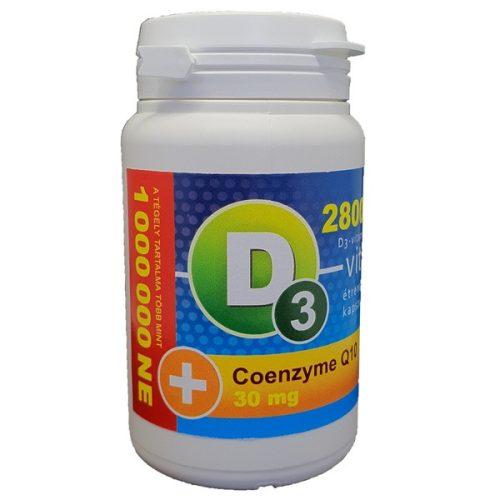 D3-vitamin 28 000 NE + Q10 30 mg kapszula (36db)
