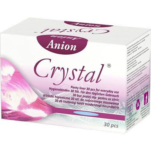 Crystal Anion tisztasági betét 30db