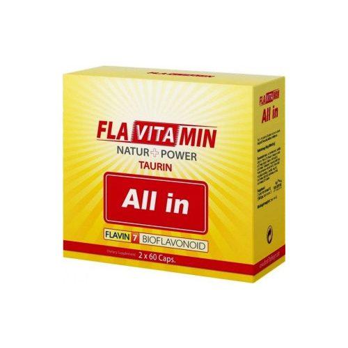 Flavitamin All In kapszula 2x60db