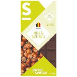 Sweet Switch tejcsokoládé mogyorós 100 g