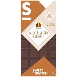 Sweet Switch tejcsokoládé sós karamellás 100 g