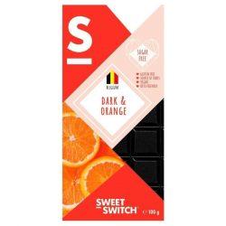 Sweet Switch étcsokoládé narancsos 100 g