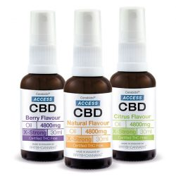 ACCESS CBD olaj spray 30ml – (4800mg)