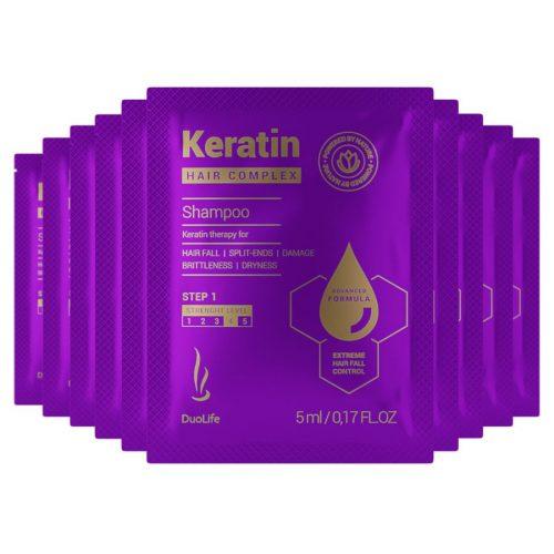 Sample DuoLife Keratin Hair Complex Advanced Formula Shampoo 5ml