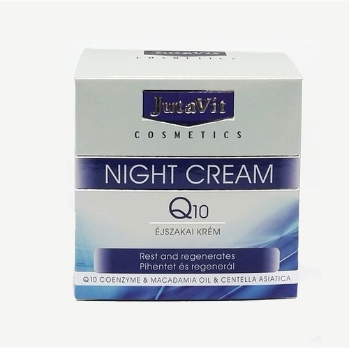 JutaVit Cosmetics – Q10 Éjszakai arckrém