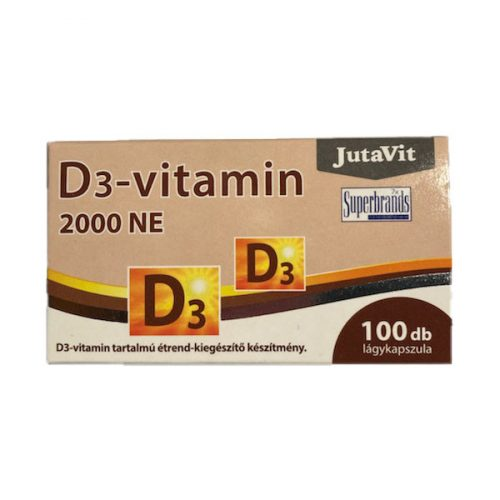 JutaVit D-vitamin 50μg 100db