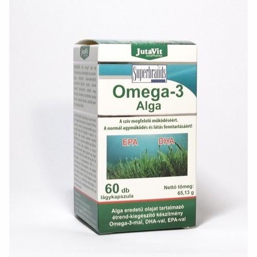JutaVit Omega-3 Alga, 60db
