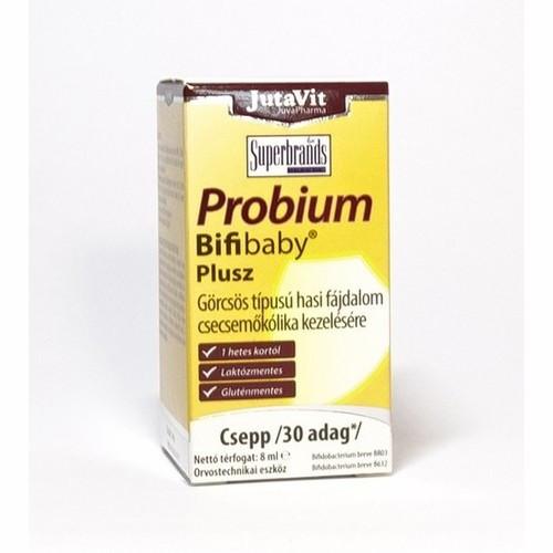 JutaVit Probium Bifibaby Plusz szuszpenziós csepp 8ml