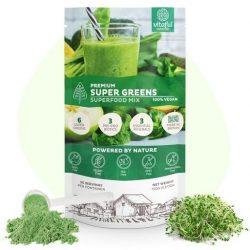 Vitaful Super Greens - Zöld Superfood Keverék (150g)